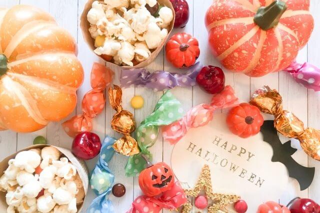 ハロウィンのお菓子パーティー